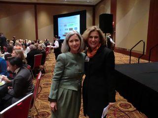 Lori Kilberg of Hartman Simons and Marci Rossell